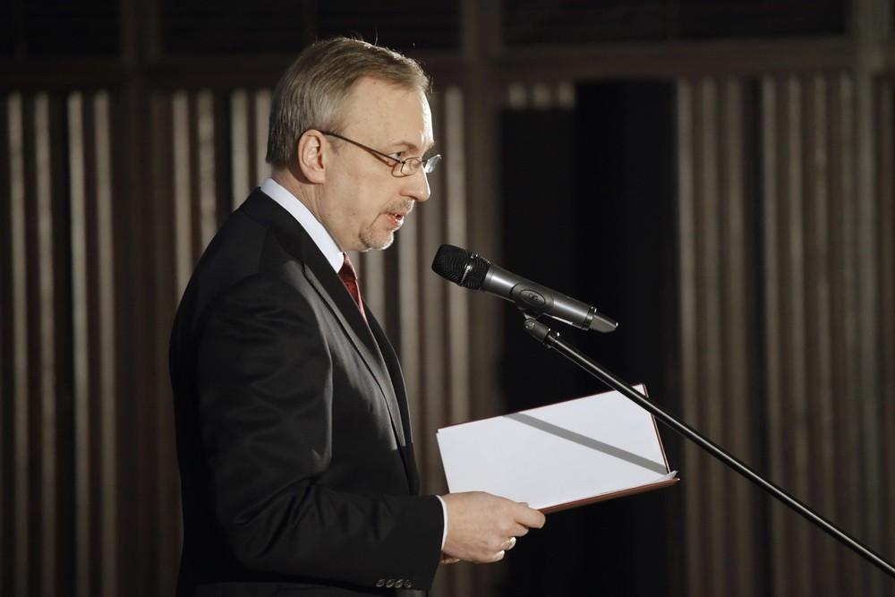 Minister Kultury i Dziedzictwa Narodowego Bogdan Zdrojewski